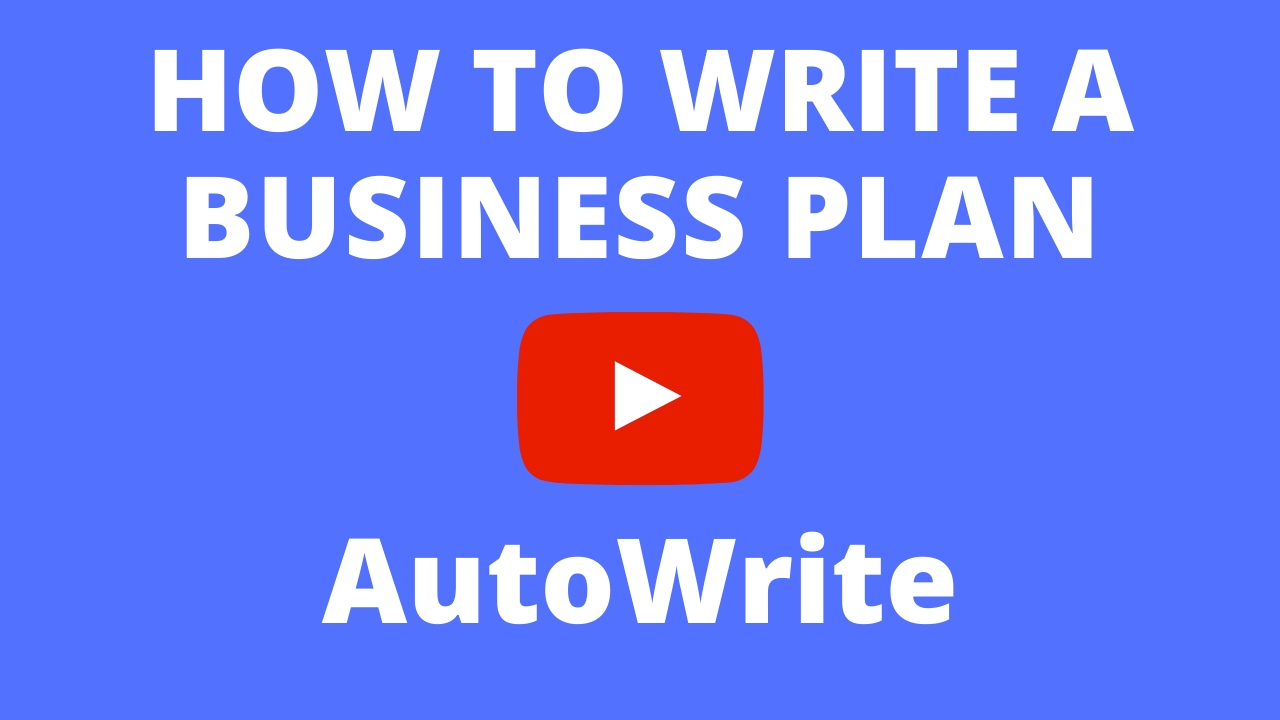 How To Write A Business Plan - Auto Write